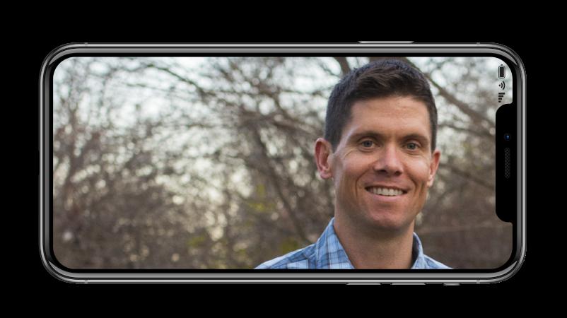 Ryan B in Iphone Horizontal